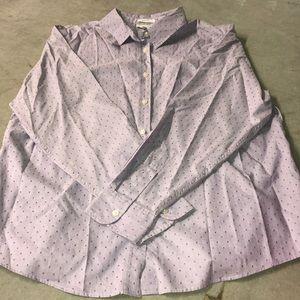 Charter Club 100% cotton no iron button down